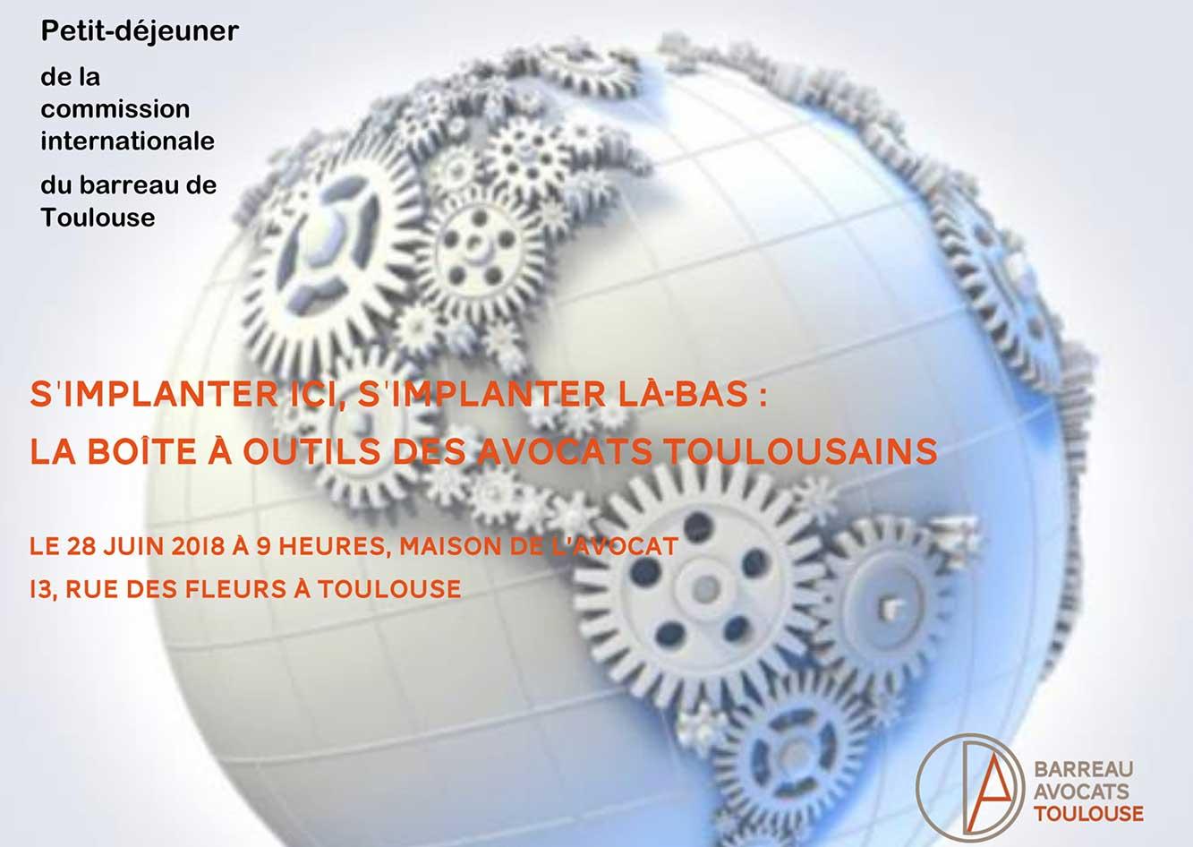Commission Internationale de l'Ordre des Avocats de Toulouse
